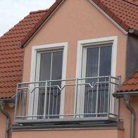 französischer Balkon, verzinkter Stahl